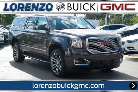 New 2018 GMC Yukon XL Denali With Navigation