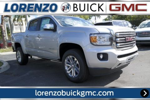 New 2018 GMC Canyon Crew Cab SLT