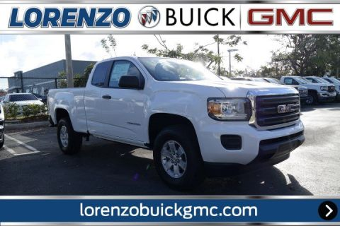 New 2018 GMC Canyon Extended Cab