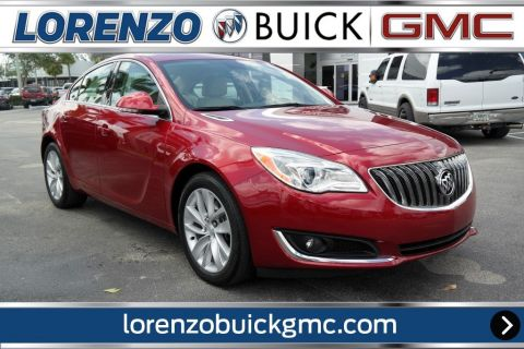 Pre-Owned 2015 Buick Regal LEATHER