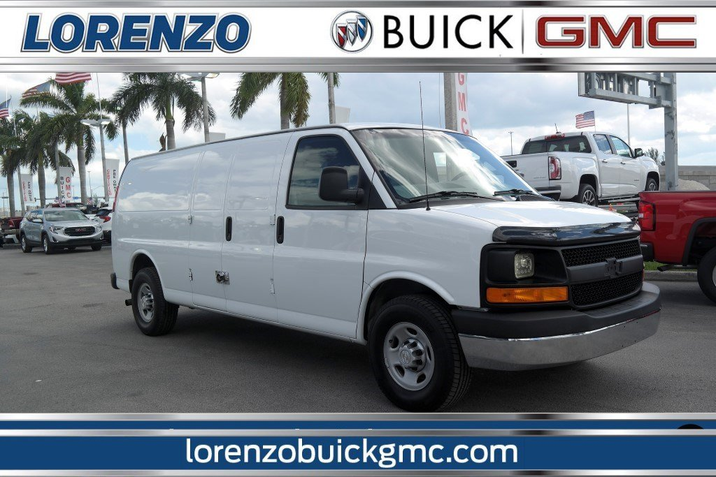 Pre Owned 2016 Chevrolet Express Cargo Van 2500 Extended