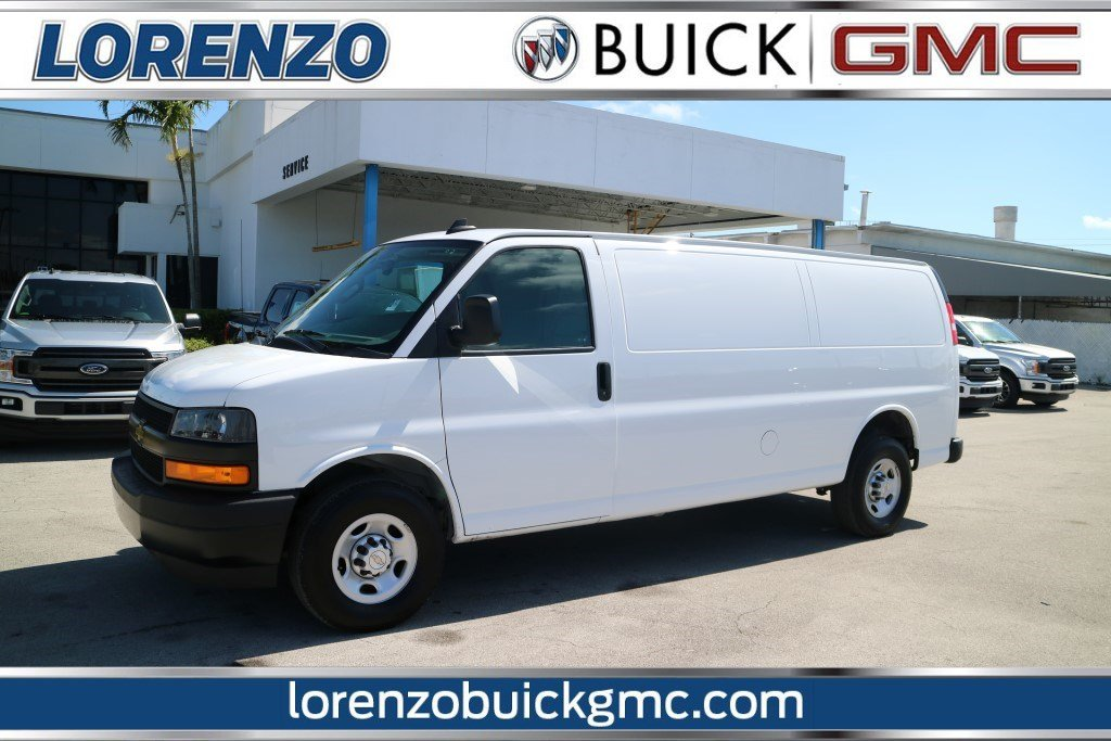 Pre Owned 2018 Chevrolet Express Cargo Van Work Van Full Size Cargo