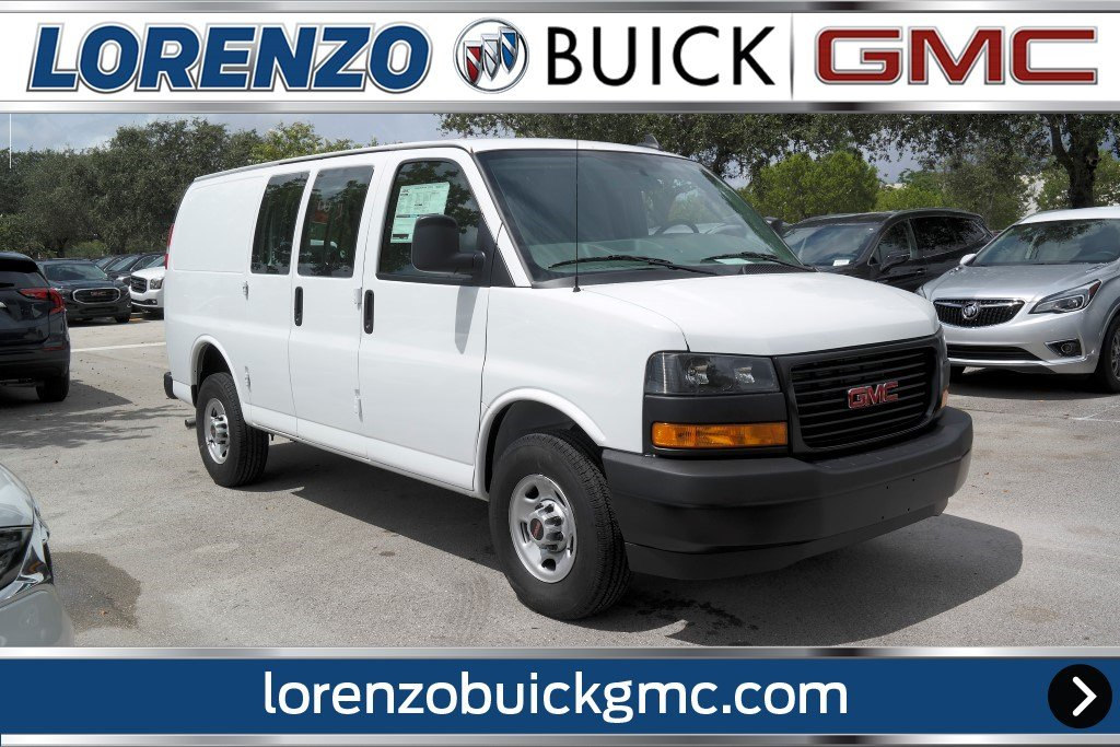 New 2018 Gmc Savana Cargo Van Full Size Cargo Van In Miami J1331929