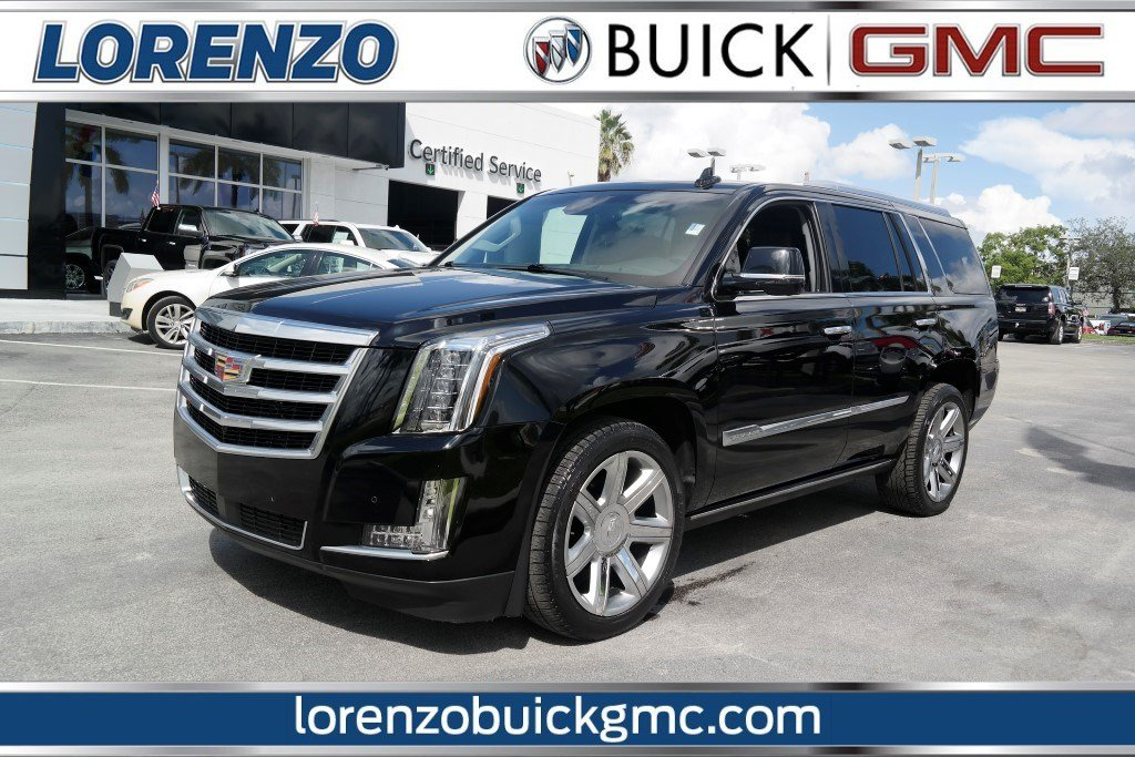 Pre Owned 2016 Cadillac Escalade Premium Collection