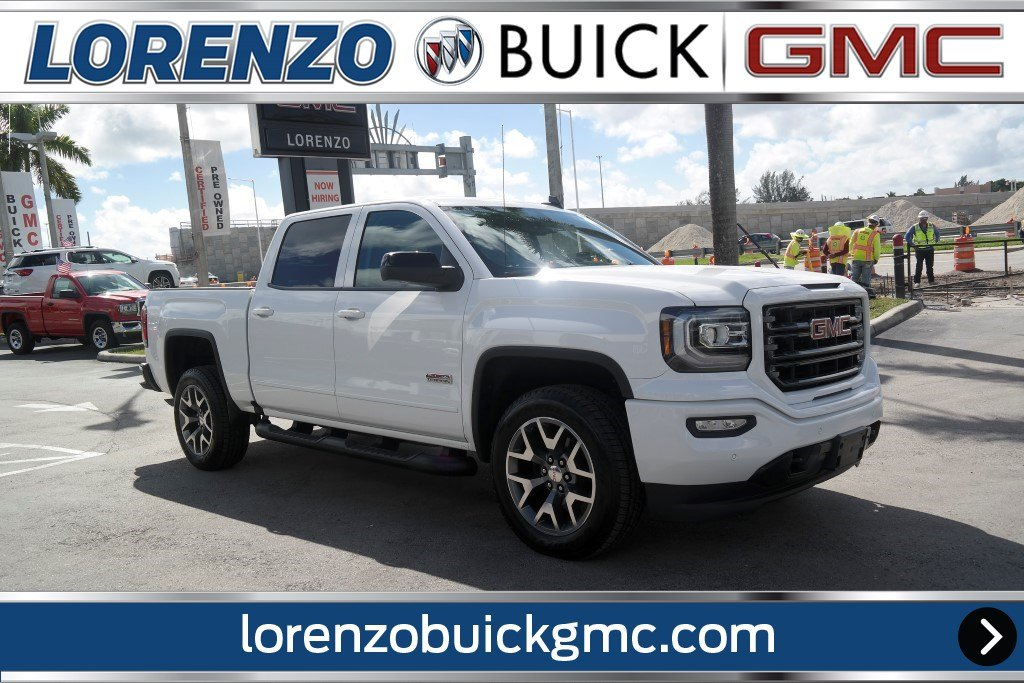 Pre Owned 2017 Gmc Sierra 1500 4x4 Crew Cab Slt All Terrain