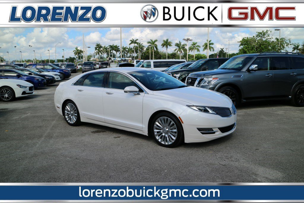 Pre Owned 2016 Lincoln Mkz Reserve 4dr Car In Miami P7485 Lorenzo