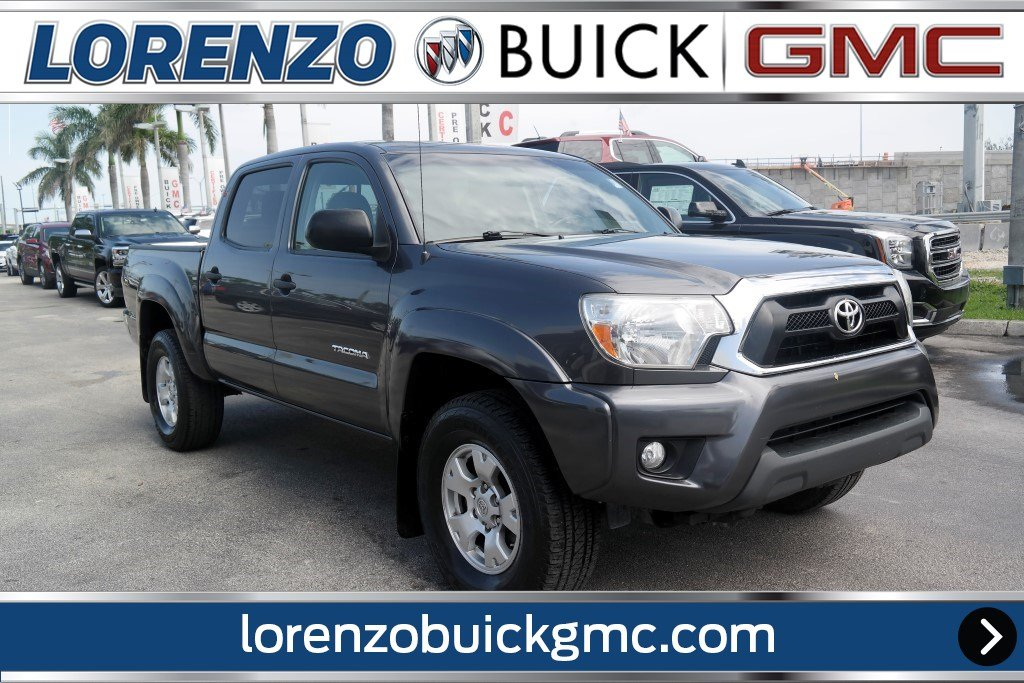 Pre-Owned 2014 Toyota Tacoma 4WD Double Cab TRD w/Off Rd Crew Cab ...
