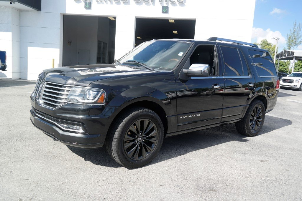 Pre Owned 2015 Lincoln Navigator Sport Utility In Miami Jr224760a
