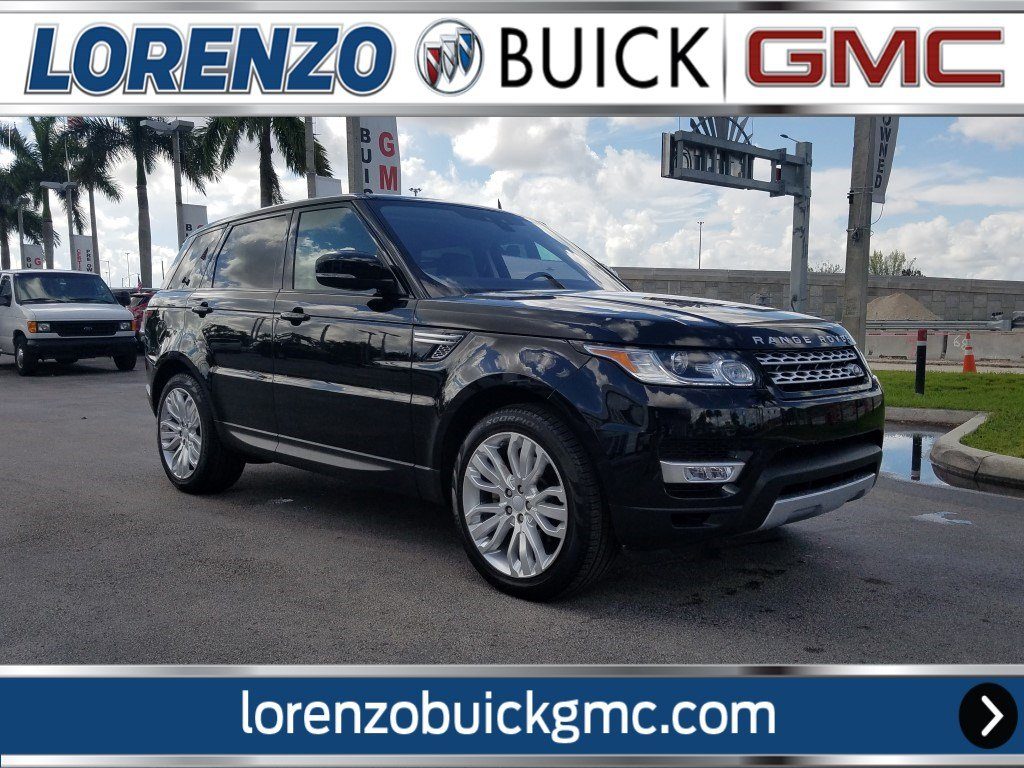 Pre Owned 2017 Land Rover Range Sport Hse Supercharged