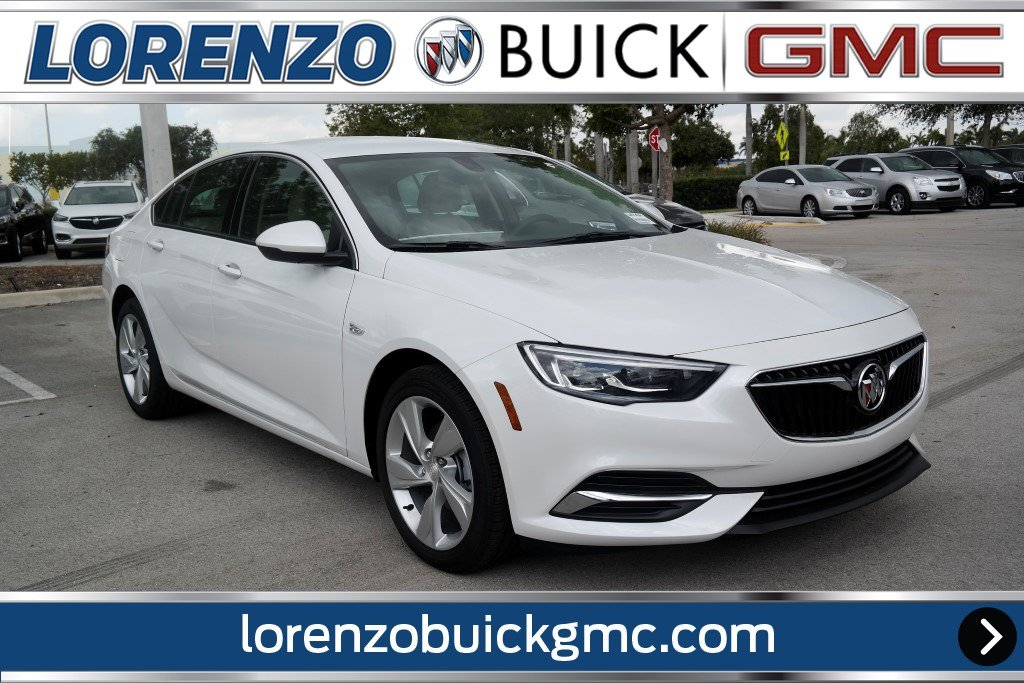 New 2018 Buick Regal Sportback Preferred Hatchback In Miami